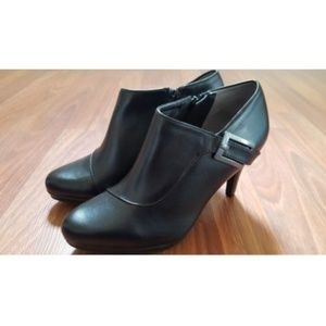 Life Stride Velocity Memory Foam Ankle Boots 7 New